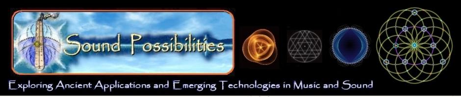 Sound Possibilities Logo on Black Header